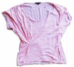 Miley Cyrus Personally Owned Pink Shirt with a Charity COA