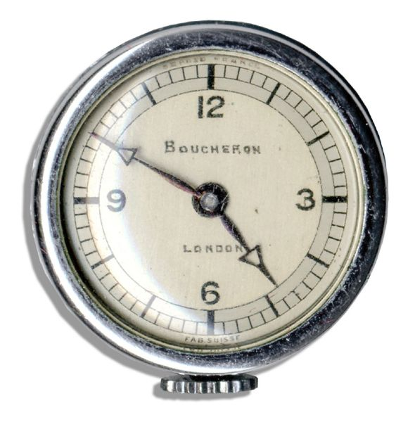 Duchess of Windsor Personally Owned Boucheron Fob Watch