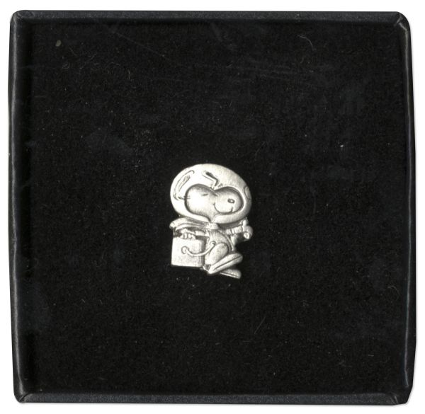 Silver Snoopy Award Pin Flown Aboard the STS-129 Space Shuttle & to the International Space Station -- Pin Awarded to NASA Employees in Recognition for Excellence