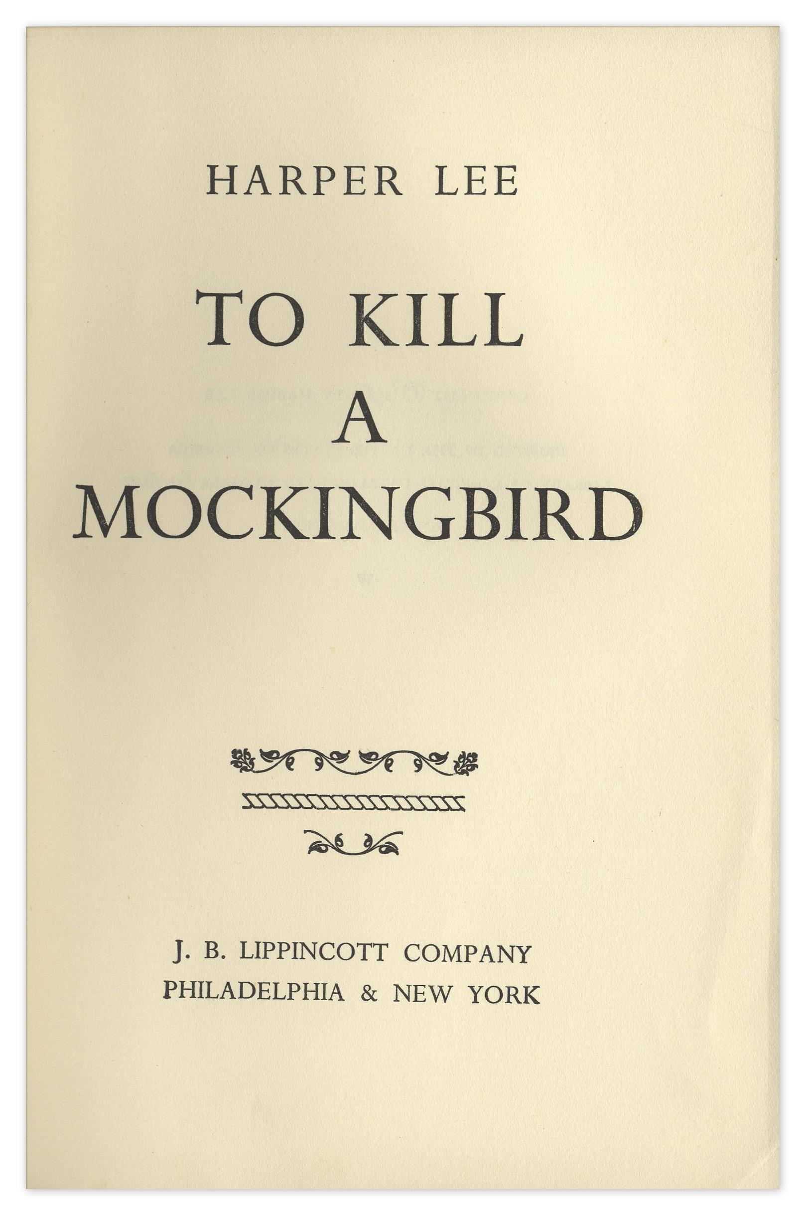 what has to kill a mockingbird To kill a mockingbird awards and nominations latest headlines box office: 'the nun' summons franchise-best $54 million on thursday night.