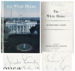 John F. Kennedy Signed Copy of The White House as President -- Also Signed by Jacqueline Kennedy