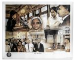 Rosa Parks Signed Civil Rights Poster
