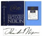 Richard Nixon Signed First Edition of His Bestselling Autobiography Memoirs