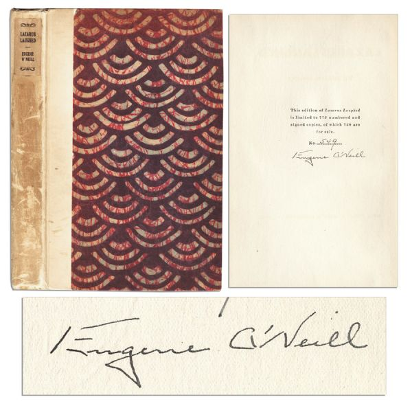 Eugene O'Neill Signed Limited Edition of ''Lazarus Laughed''