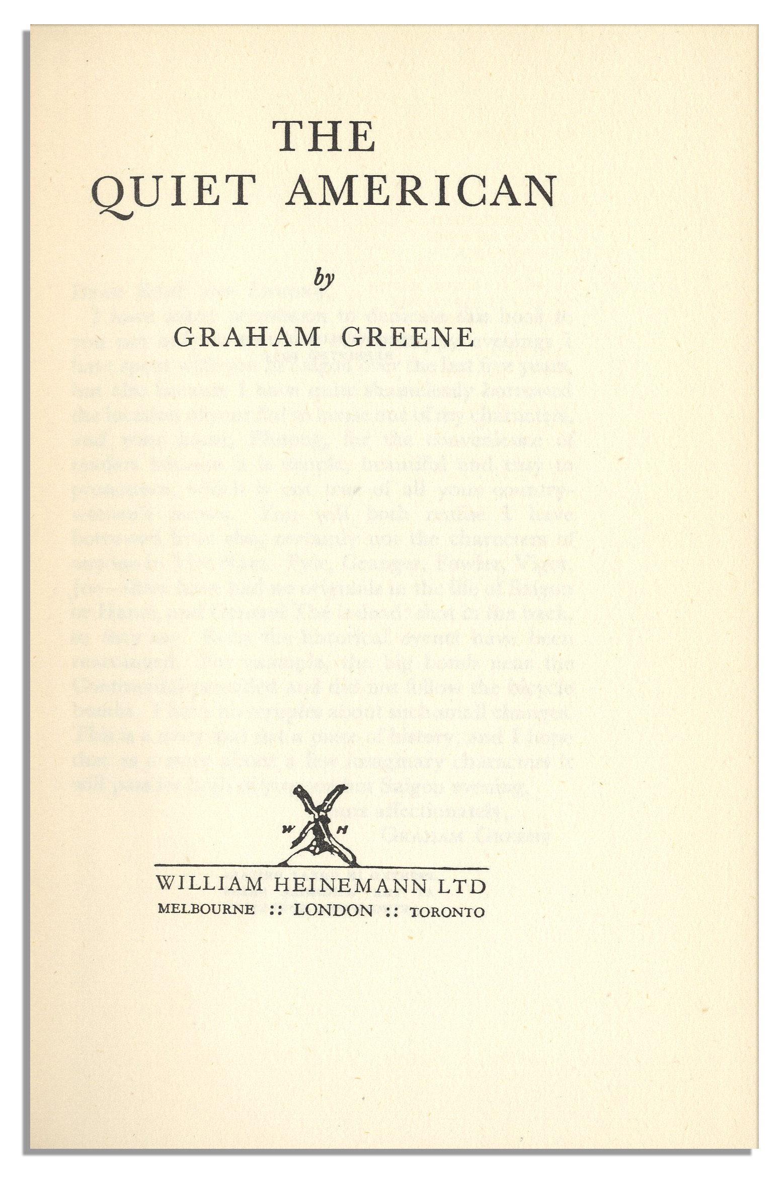 the quiet american by graham greene The quiet american has 36,693 ratings and 2,349 reviews agnieszka said: i never knew a man who had better motives for all the trouble he causedi as.