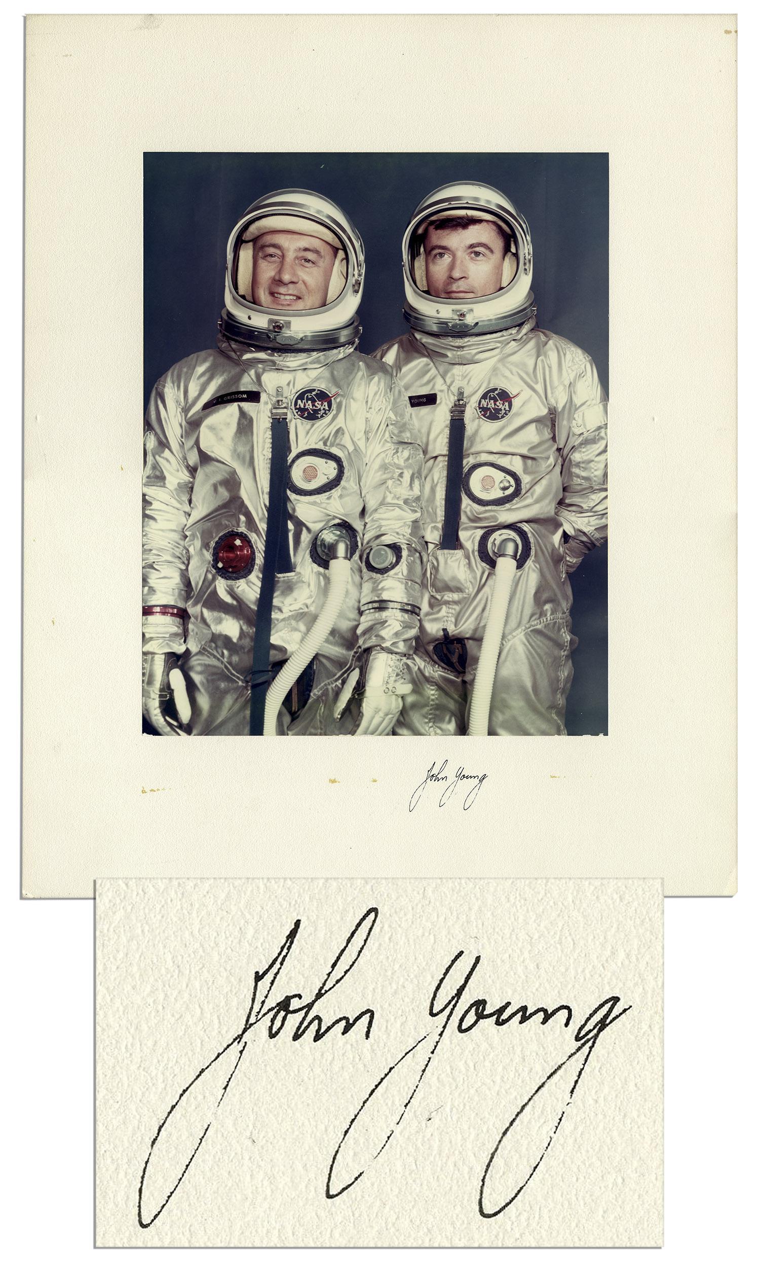 john young astronaut autograph -#main