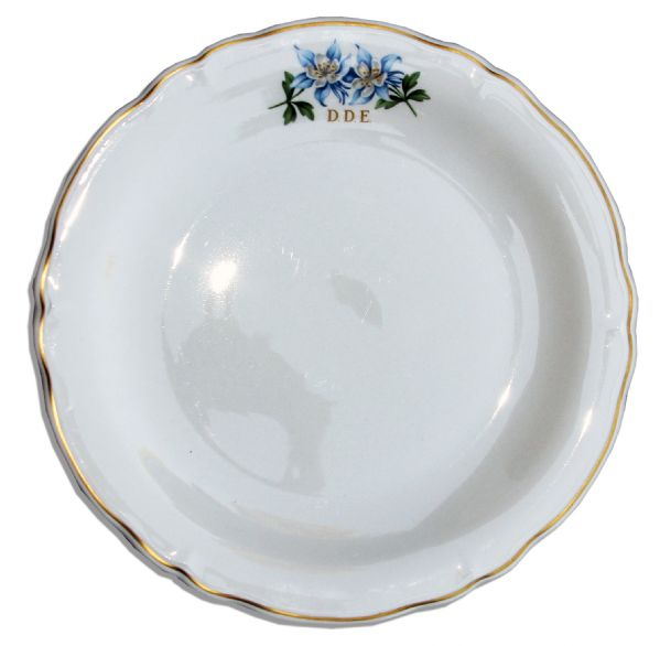 China Plate From Eisenhower's Presidential Airplane