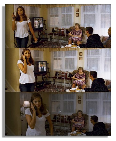 Eva Mendes Wardrobe From the Will Ferrell Comedy ''The Other Guys''