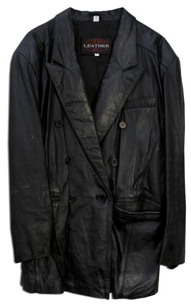 Chow Yun-Fat Leather Jacket From ''The Replacement Killers''