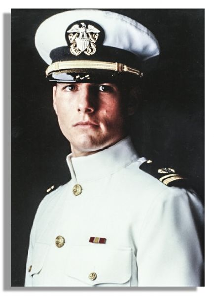 Tom Cruise Naval Officer's Cap From ''A Few Good Men''