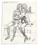 Comic Art by Bill Ward -- Excellent Vintage Good Girl Art