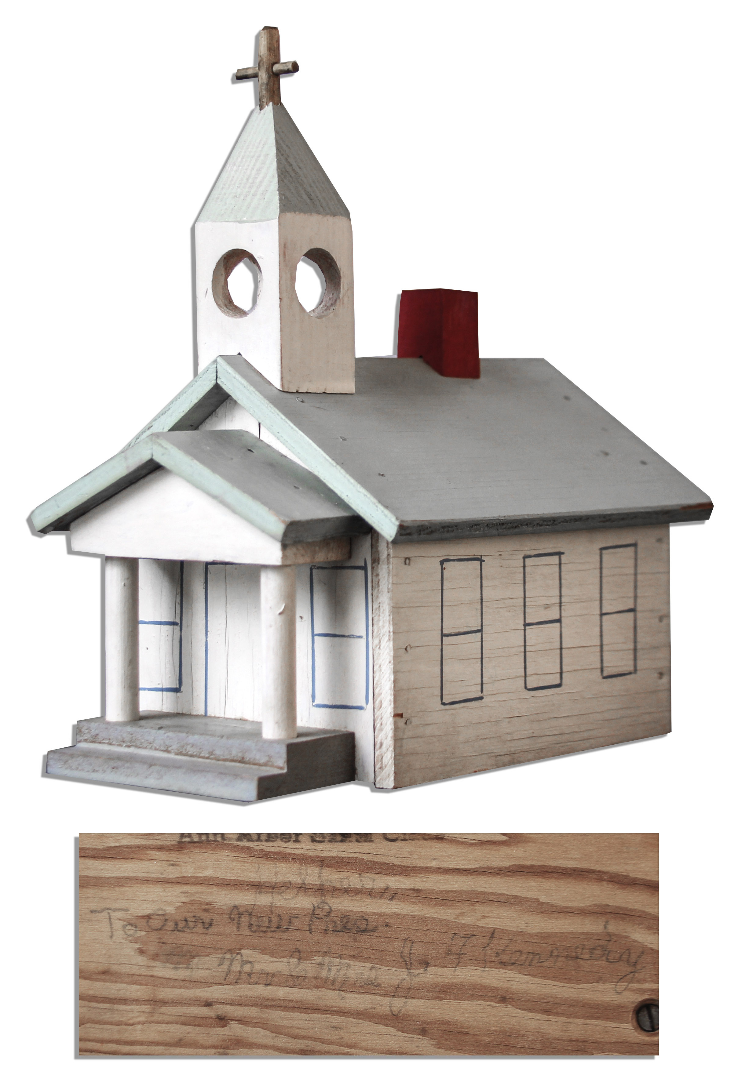 Toys For Church : Lot detail john f kennedy owned wooden toy church