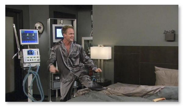 Neal Patrick Harris Screen-Worn Pajamas From ''How I Met Your Mother''