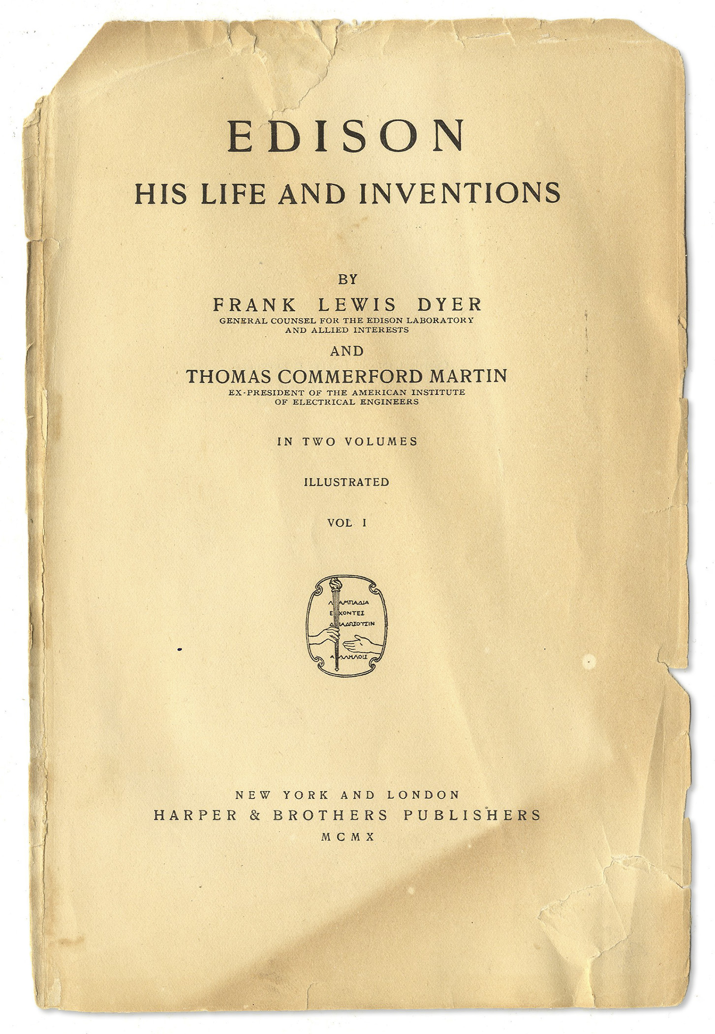 The Life and Inventions of Thomas Edison