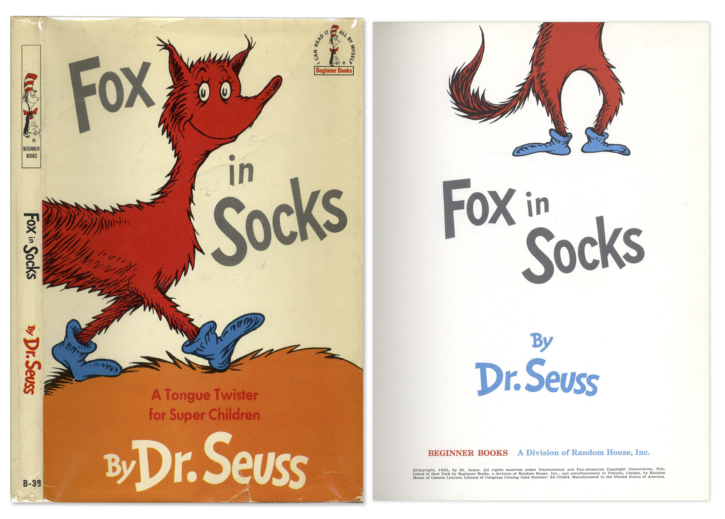The Art of Dr. Seuss - Official Site Dr seuss fox in socks pictures