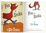 Fox in Socks by Dr. Seuss -- First Edition in Dustjacket