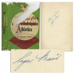 Roger Maris Signed The Kansas City Athletics Book -- With PSA/DNA COA