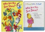 Who Are You, Sue Snue? First Edition, First Printing -- From The Wubbulous World of Dr. Seuss