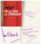 Rare Signed First Edition of Fire & Sleet & Candlelight by August Derleth -- ...the best of modern macabre poetry...