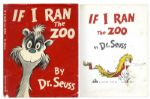 Dr. Seuss If I Ran The Zoo Early 1950 Edition