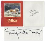 Marguerite Henry Signs A Pictorial Life Story of Misty -- Happiness is knowing Misty!