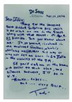 Dr. Seuss Autograph Letter Signed -- ...Im at present, involved in the enclosed Grolexus, which is whirlzing me fithither...