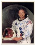 Excellent Neil Armstrong Signed 8 x 10 Photo