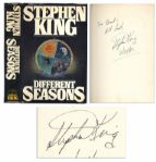 Stephen King Signed First Printing of Different Seasons
