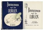 Dr. Seuss Bartholomew and the Oobleck First Printing -- With Original Dustjacket