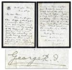 King George V Autograph Letter Signed From the First Year of His Reign