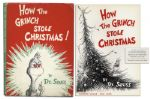 True First Edition, First Printing of How The Grinch Stole Christmas in Beautiful Condition -- With Well-Preserved Dustjacket