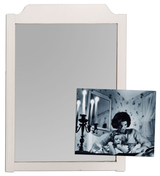 John & Jackie Kennedy Owned & Used Mirror That Hung in Their Hyannis Port Home -- 20'' x 28''