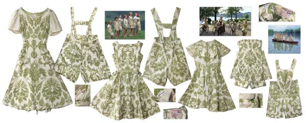 Sound of Music costumes ''The Sound of Music'' Ultimate Collection of ''Curtain'' Costumes Worn by the Von Trapp Children