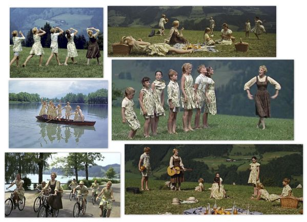 ''The Sound of Music'' Ultimate Collection of ''Curtain'' Costumes Worn by the Von Trapp Children