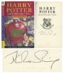 J.K. Rowling Signed Copy of Harry Potter and the Philosophers Stone -- Signed in 2002 -- With PSA/DNA COA