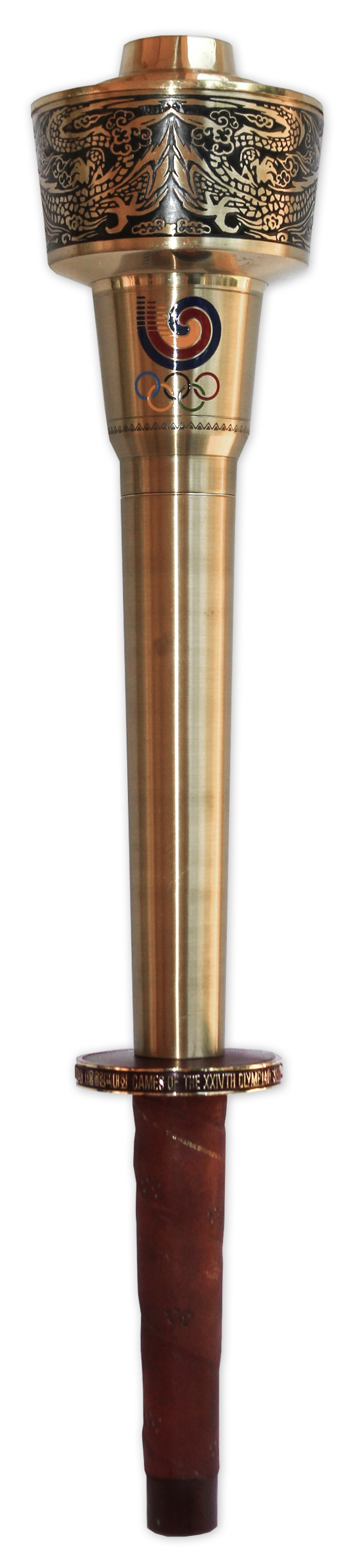Lot Detail - Olympic Torch From the 1988 Olympic Games ...