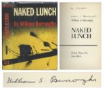William S. Burroughs Signed First American Edition of Naked Lunch