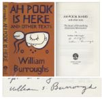William S. Burroughs Signed First Edition of Ah Pook is Here