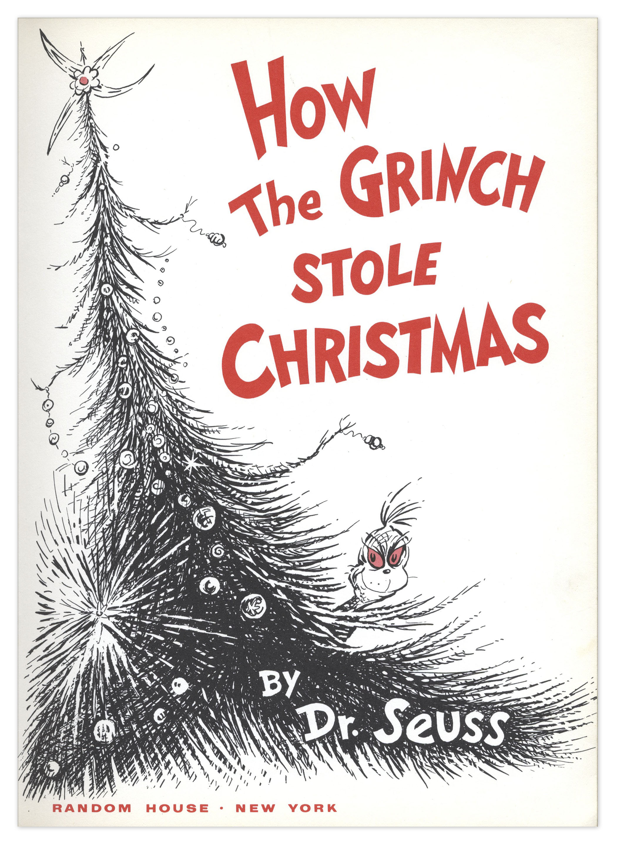 Lot Detail - Dr. Seuss ''How The Grinch Stole Christmas ...