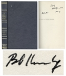 Robert F. Kennedy Signed First Edition of To Seek a Newer World