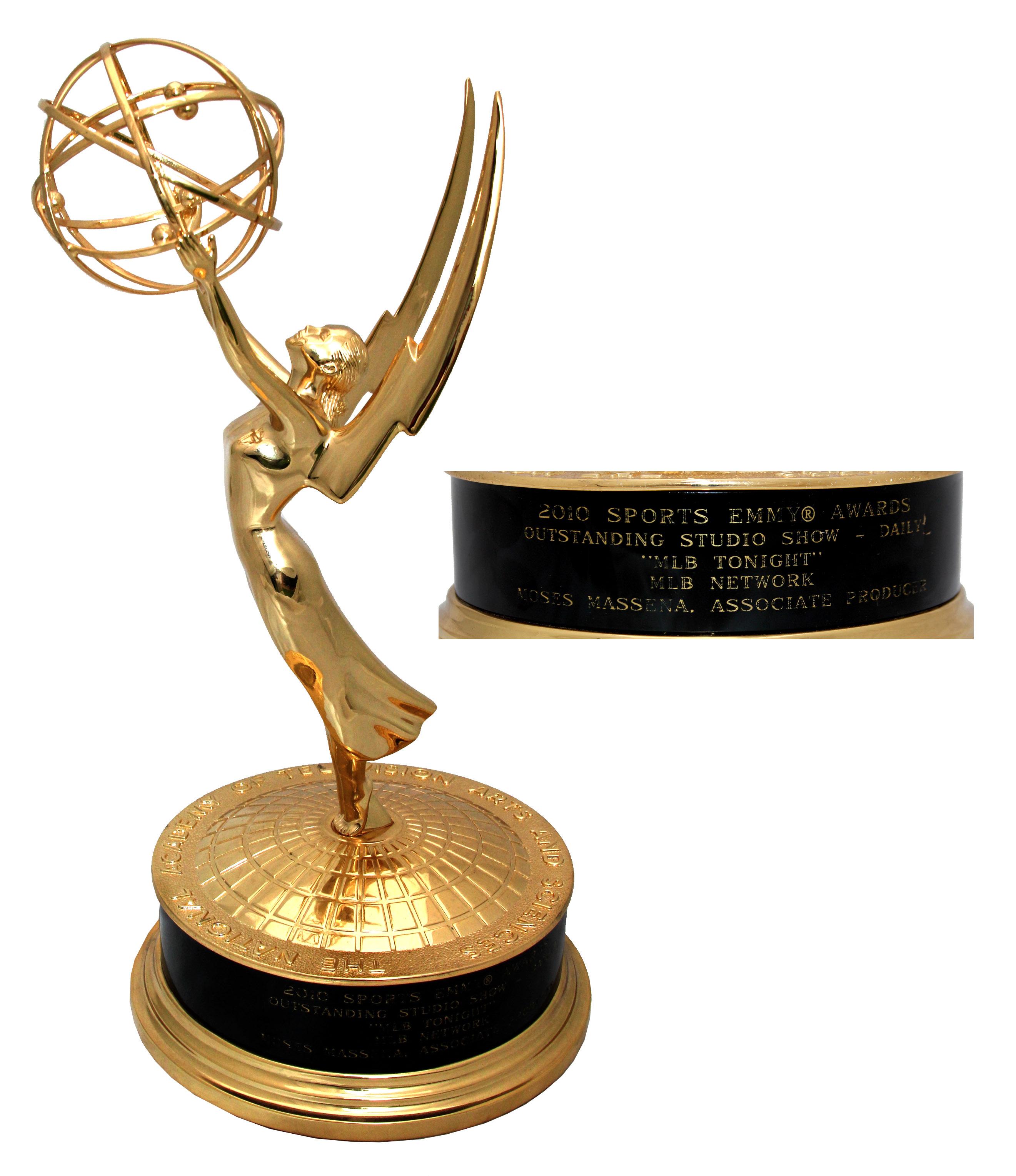 Lot Detail - 2010 Sports Emmy Awarded to Major League Baseball's '&#3...