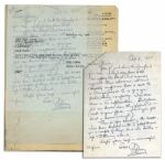 Mary Astor Autograph Letter Signed -- Regarding Astors Book, A Place Called Saturday