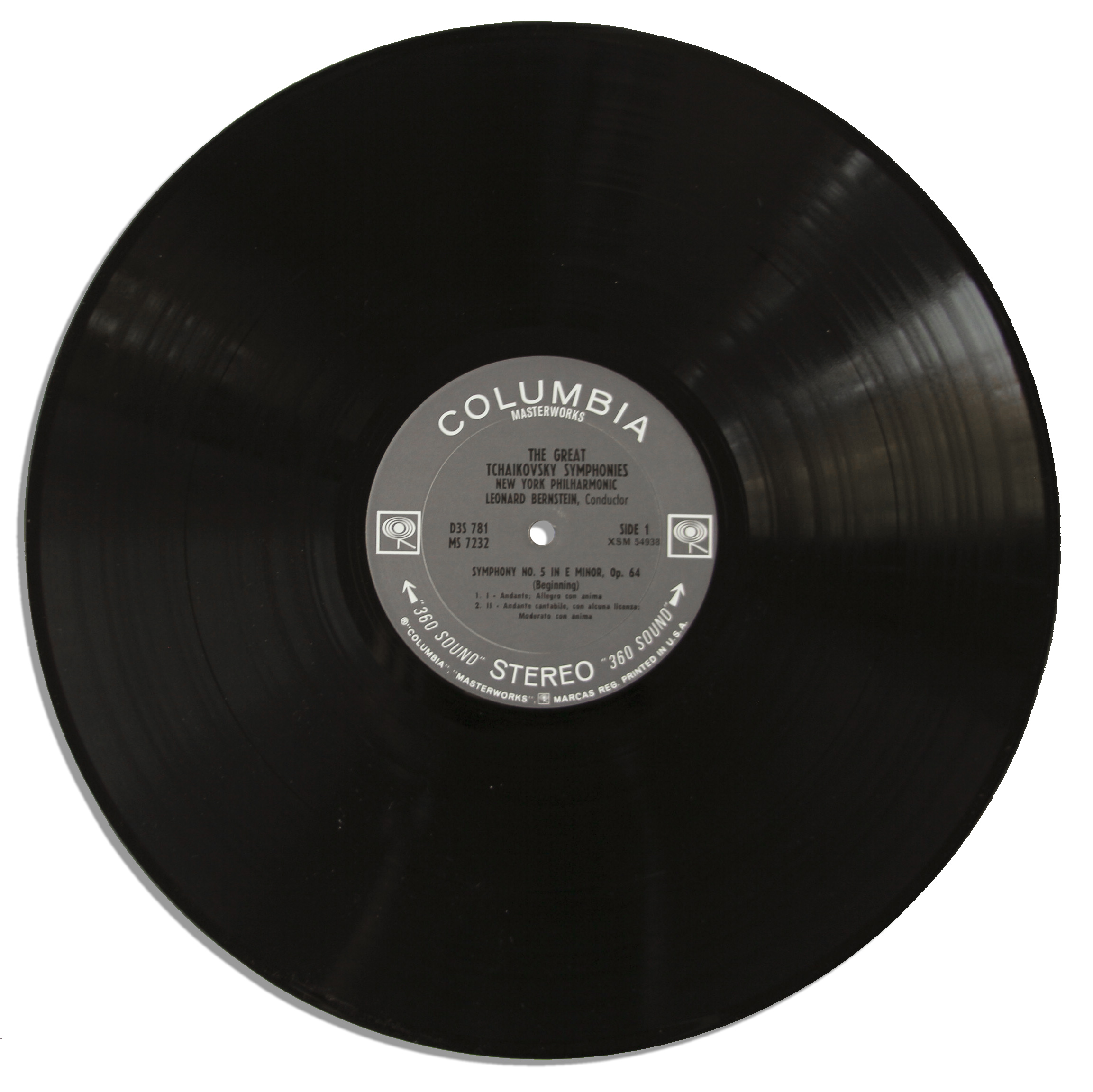 Lot Detail Leonard Bernstein Signed Lp Record Set