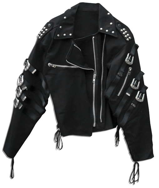 Michael Jackson's ''Bad'' Prototype Jacket -- Commissioned to Prepare for the Video and Album Cover Photo -- Fine