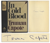 Truman Capote In Cold Blood Signed First Edition, First Printing -- With PSA/DNA COA