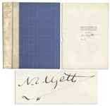 Artist N.C. Wyeth Signed Limited Edition of The Little Shepherd of Kingdom Come -- Wyeth Illustrated the Civil War Novel