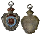 Aston Villa Football Club Medal From the 1935-36 Season