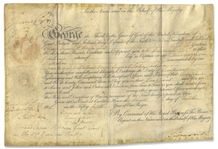 King George IV Document Signed While He Served as Prince Regent -- Military Appointment
