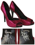 Fergie Worn High Heels, Signed on the Bottom of Both Heels