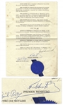 Rare Fidel Castro Document Signed as Cubas Prime Minister in 1959, the Year of the Liberation